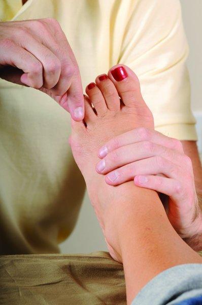 foot reflexologly